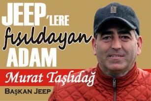 JEEPLERE FISILDAYAN ADAM BODRUM'DA